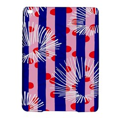 Line Vertical Polka Dots Circle Flower Blue Pink White iPad Air 2 Hardshell Cases