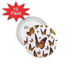 Butterfly Spoonflower 1.75  Buttons (10 pack)