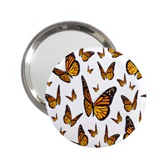 Butterfly Spoonflower 2.25  Handbag Mirrors