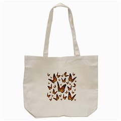 Butterfly Spoonflower Tote Bag (Cream)