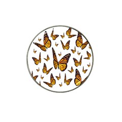 Butterfly Spoonflower Hat Clip Ball Marker (10 pack)