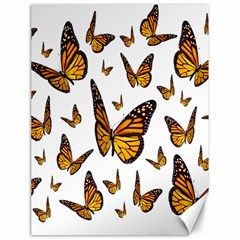Butterfly Spoonflower Canvas 18  x 24