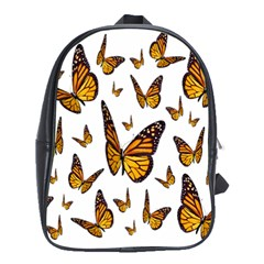 Butterfly Spoonflower School Bags(Large)