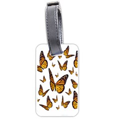 Butterfly Spoonflower Luggage Tags (Two Sides)