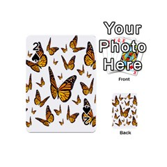 Butterfly Spoonflower Playing Cards 54 (Mini)