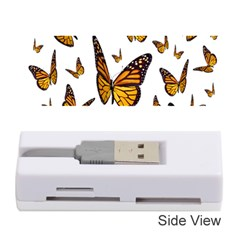 Butterfly Spoonflower Memory Card Reader (Stick)