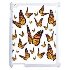 Butterfly Spoonflower Apple iPad 2 Case (White)
