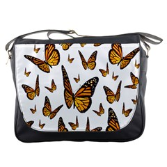Butterfly Spoonflower Messenger Bags