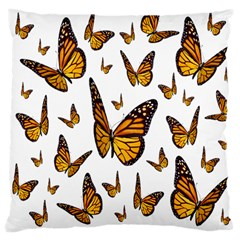 Butterfly Spoonflower Large Cushion Case (Two Sides)