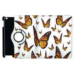 Butterfly Spoonflower Apple iPad 2 Flip 360 Case