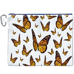 Butterfly Spoonflower Canvas Cosmetic Bag (XXXL)