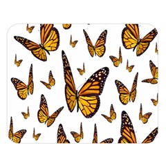 Butterfly Spoonflower Double Sided Flano Blanket (Large)