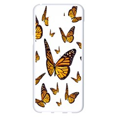Butterfly Spoonflower Samsung Galaxy S8 Plus White Seamless Case