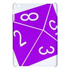 Number Purple Apple iPad Mini Hardshell Case