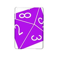 Number Purple iPad Mini 2 Hardshell Cases