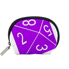 Number Purple Accessory Pouches (Small)