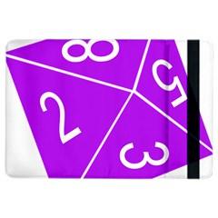 Number Purple Ipad Air 2 Flip