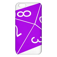 Number Purple iPhone 6 Plus/6S Plus TPU Case