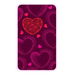 Love Heart Polka Dots Pink Memory Card Reader