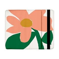 Peach Sunflower Flower Pink Green Samsung Galaxy Tab Pro 8.4  Flip Case