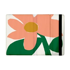 Peach Sunflower Flower Pink Green iPad Mini 2 Flip Cases