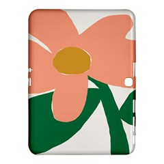 Peach Sunflower Flower Pink Green Samsung Galaxy Tab 4 (10 1 ) Hardshell Case