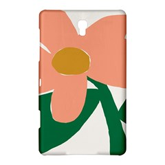 Peach Sunflower Flower Pink Green Samsung Galaxy Tab S (8.4 ) Hardshell Case