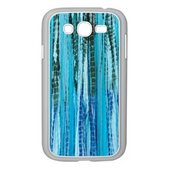 Line Tie Dye Green Kaleidoscope Opaque Color Samsung Galaxy Grand DUOS I9082 Case (White)