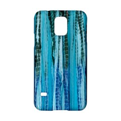 Line Tie Dye Green Kaleidoscope Opaque Color Samsung Galaxy S5 Hardshell Case