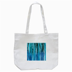 Line Tie Dye Green Kaleidoscope Opaque Color Tote Bag (white)