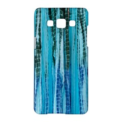 Line Tie Dye Green Kaleidoscope Opaque Color Samsung Galaxy A5 Hardshell Case