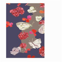 Original Butterfly Carnation Large Garden Flag (Two Sides)