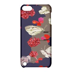 Original Butterfly Carnation Apple iPod Touch 5 Hardshell Case with Stand