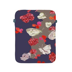 Original Butterfly Carnation Apple iPad 2/3/4 Protective Soft Cases