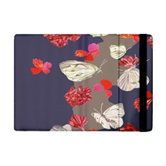 Original Butterfly Carnation iPad Mini 2 Flip Cases