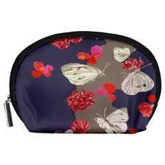 Original Butterfly Carnation Accessory Pouches (Large)