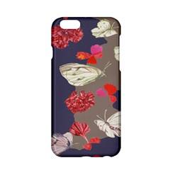Original Butterfly Carnation Apple iPhone 6/6S Hardshell Case