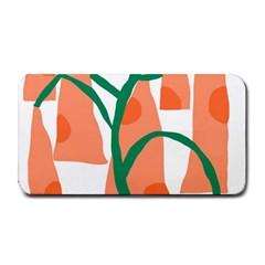 Portraits Plants Carrot Polka Dots Orange Green Medium Bar Mats
