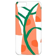 Portraits Plants Carrot Polka Dots Orange Green Apple iPhone 5 Classic Hardshell Case
