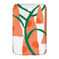 Portraits Plants Carrot Polka Dots Orange Green Samsung Galaxy Note 8.0 N5100 Hardshell Case