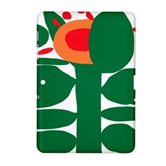 Portraits Plants Sunflower Green Orange Flower Samsung Galaxy Tab 2 (10.1 ) P5100 Hardshell Case