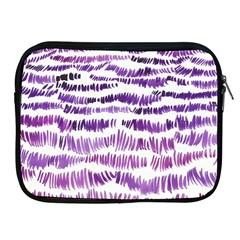 Original Feather Opaque Color Purple Apple iPad 2/3/4 Zipper Cases