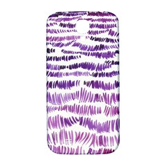 Original Feather Opaque Color Purple Samsung Galaxy S4 I9500/I9505  Hardshell Back Case