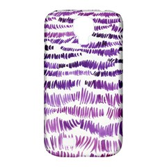 Original Feather Opaque Color Purple Samsung Galaxy S4 Classic Hardshell Case (PC+Silicone)
