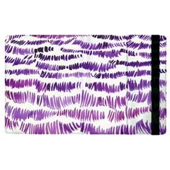 Original Feather Opaque Color Purple Apple Ipad Pro 9 7   Flip Case
