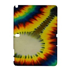 Red Blue Yellow Green Medium Rainbow Tie Dye Kaleidoscope Opaque Color Galaxy Note 1