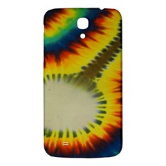 Red Blue Yellow Green Medium Rainbow Tie Dye Kaleidoscope Opaque Color Samsung Galaxy Mega I9200 Hardshell Back Case