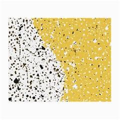 Spot Polka Dots Orange Black Small Glasses Cloth