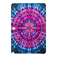 Red Blue Tie Dye Kaleidoscope Opaque Color Circle Samsung Galaxy Tab Pro 12.2 Hardshell Case