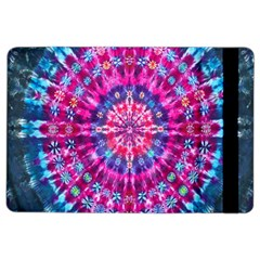 Red Blue Tie Dye Kaleidoscope Opaque Color Circle iPad Air 2 Flip